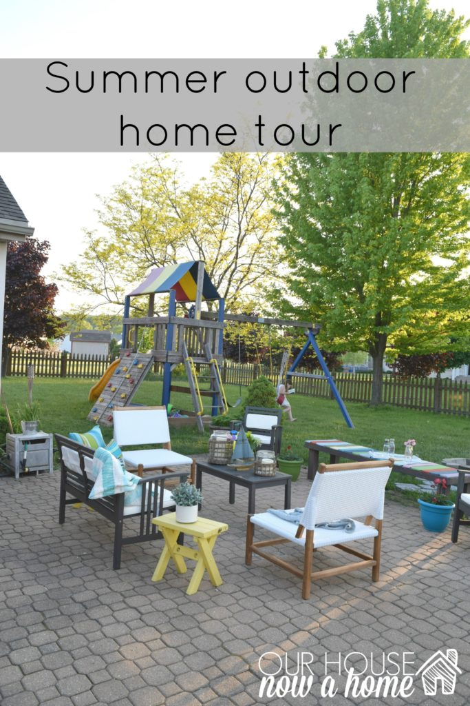 summer outfoor home tour