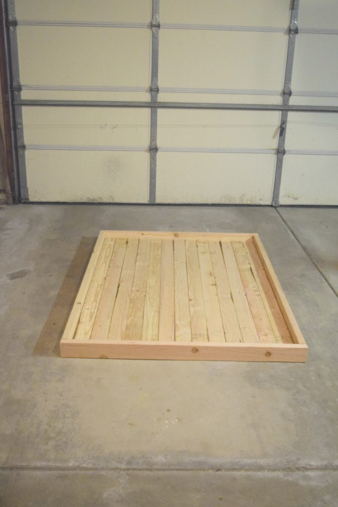 2x4 table top