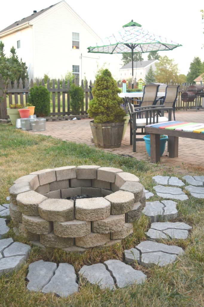 DIY fire pit how to