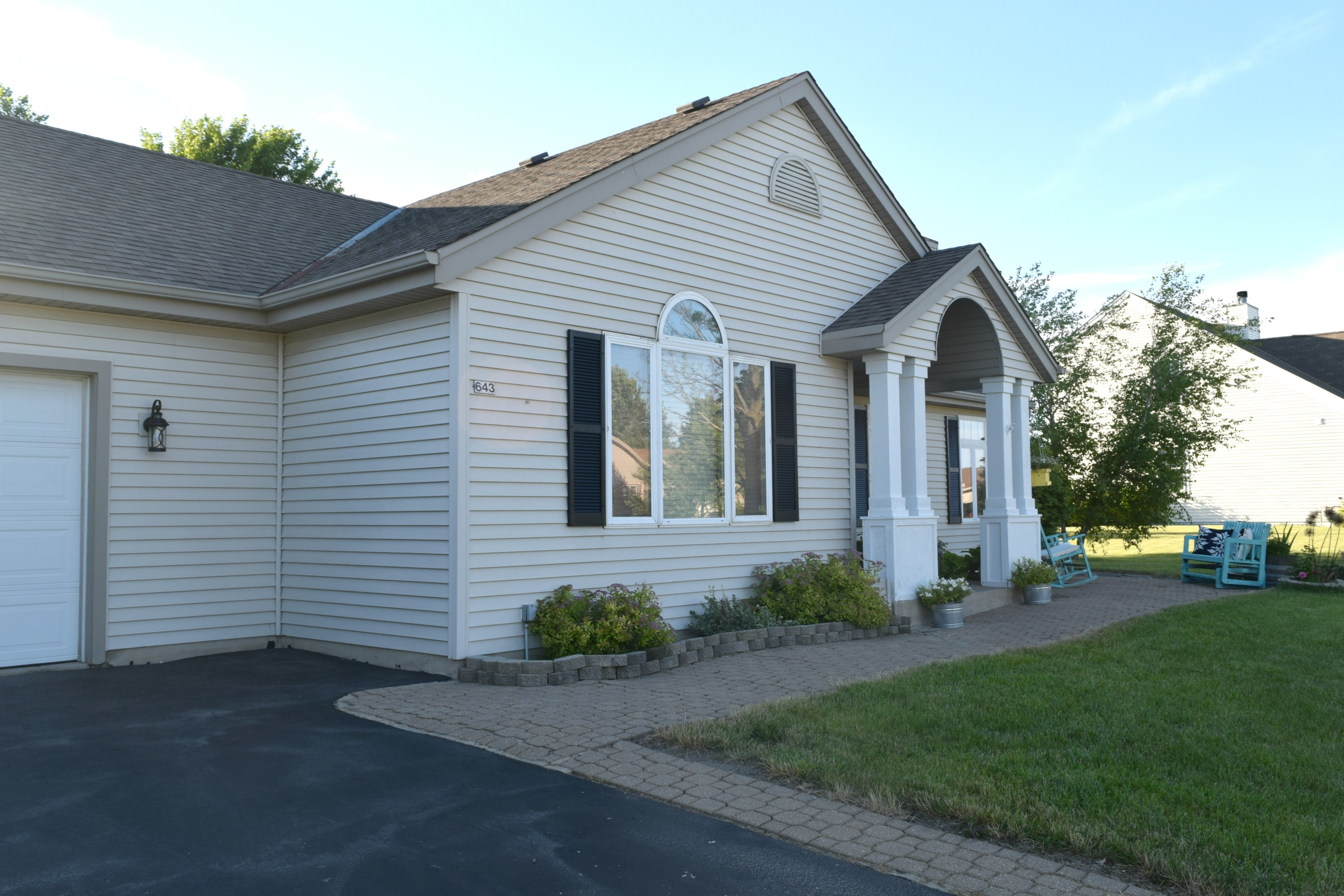 Adding Curb Appeal How To Paint Shutters And Front Door Our House