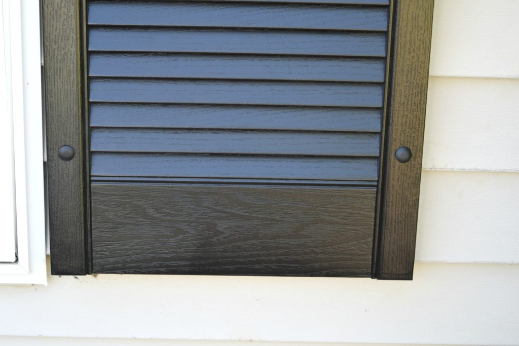 how to attach shutters