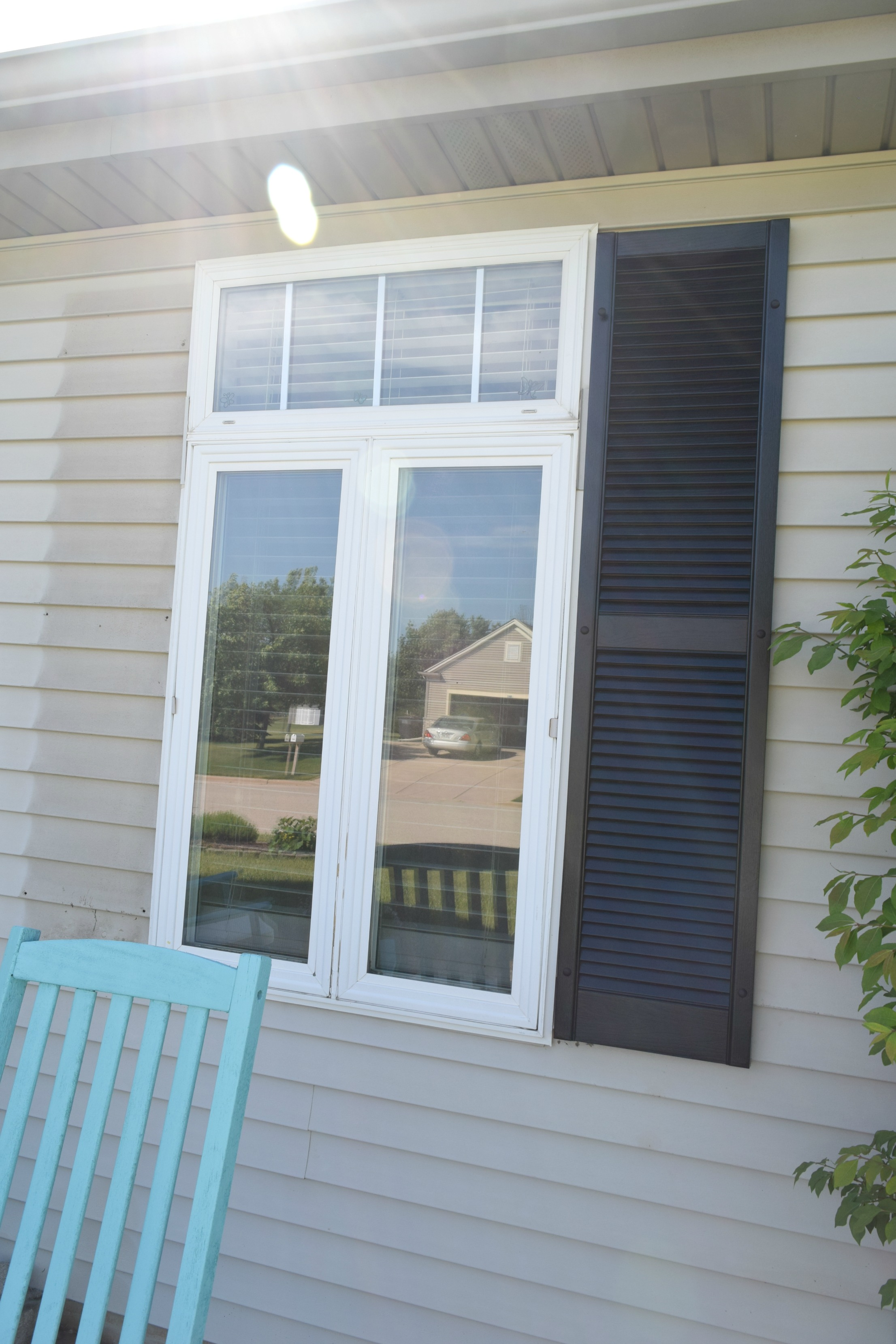 adding curb appeal how to paint shutters and front door our house now a home