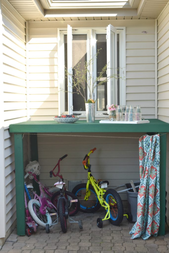 kids bike storage ideas