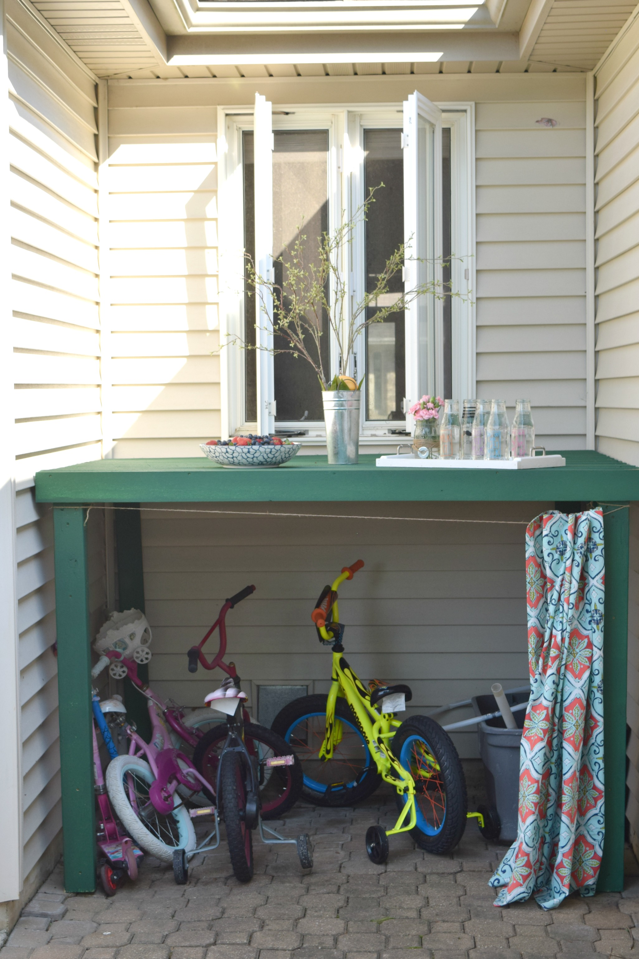 Charmant How To Hide Kids Outdoor Toys, A DIY Storage Solution