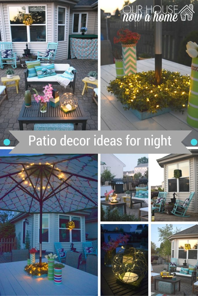 outdoor nighttime decor ideas