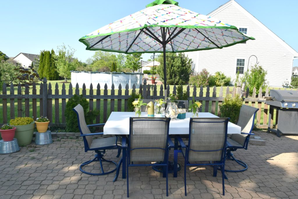 patio furniture upcycle