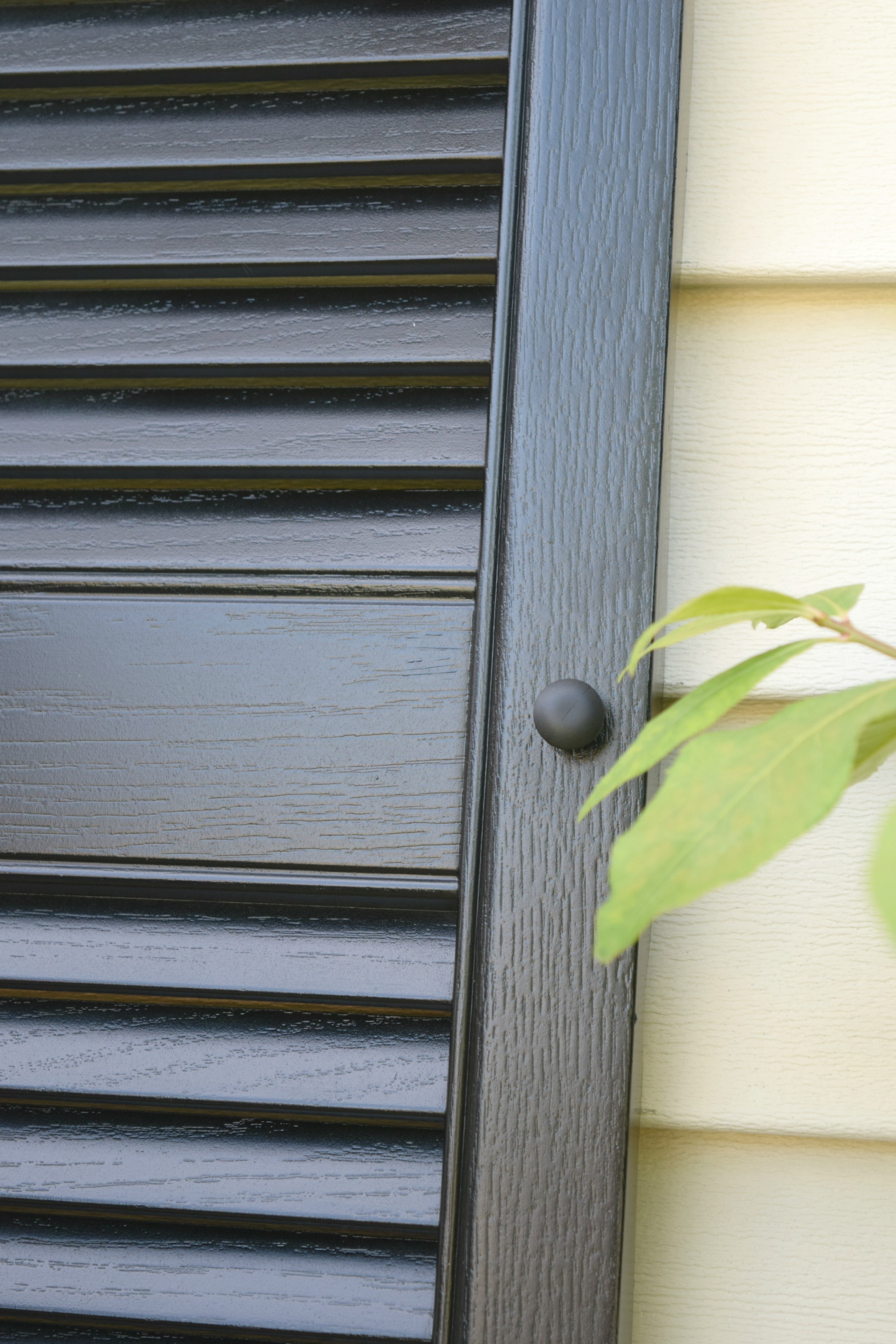 Adding Curb Appeal How To Paint Shutters And Front Door