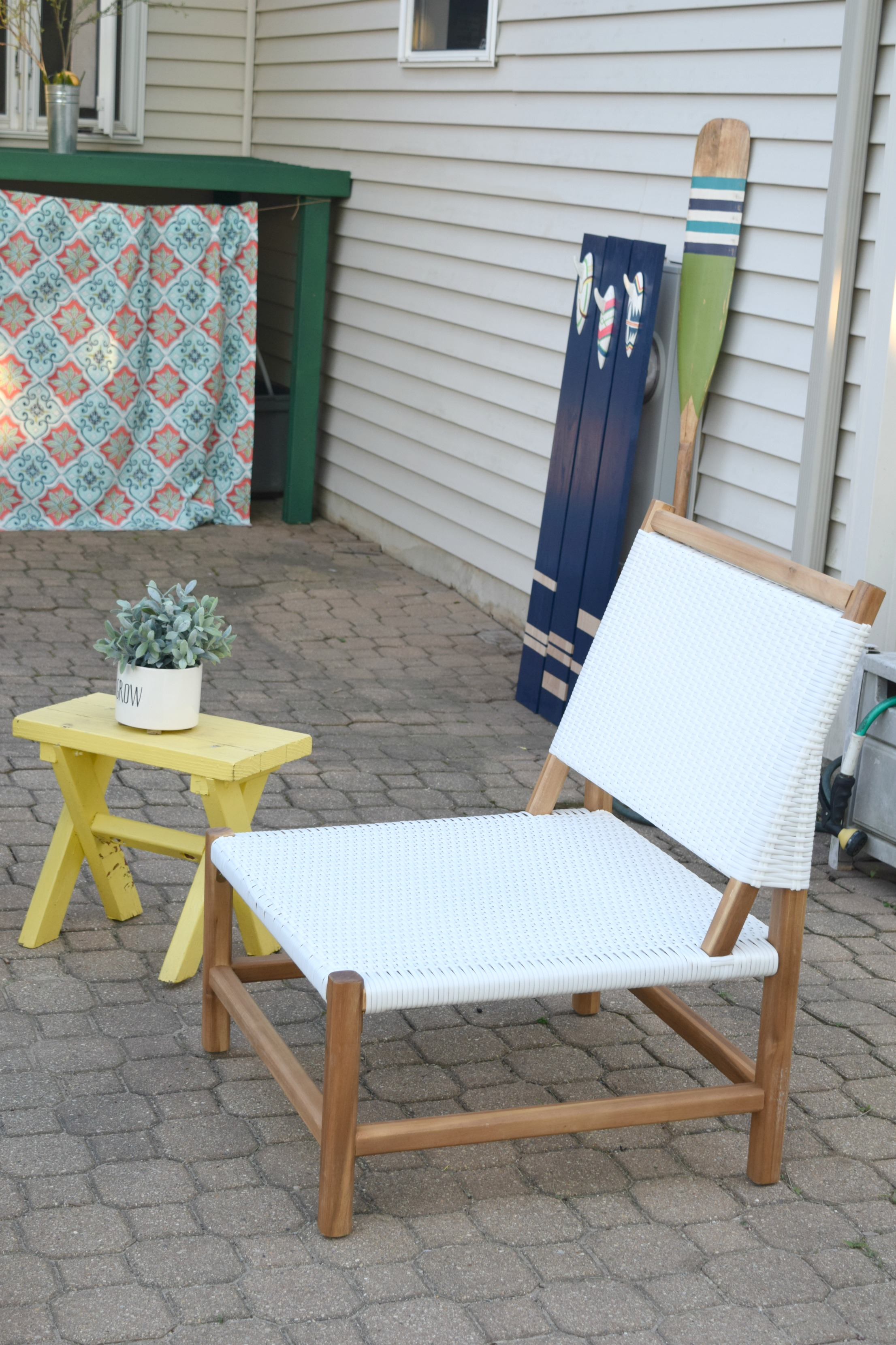 how to hide kids outdoor toys a diy storage solution our house now a home. Black Bedroom Furniture Sets. Home Design Ideas