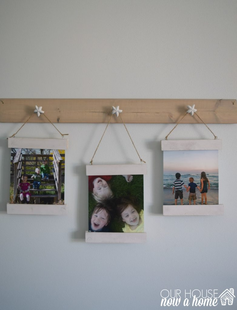 DIY picture display tutorial