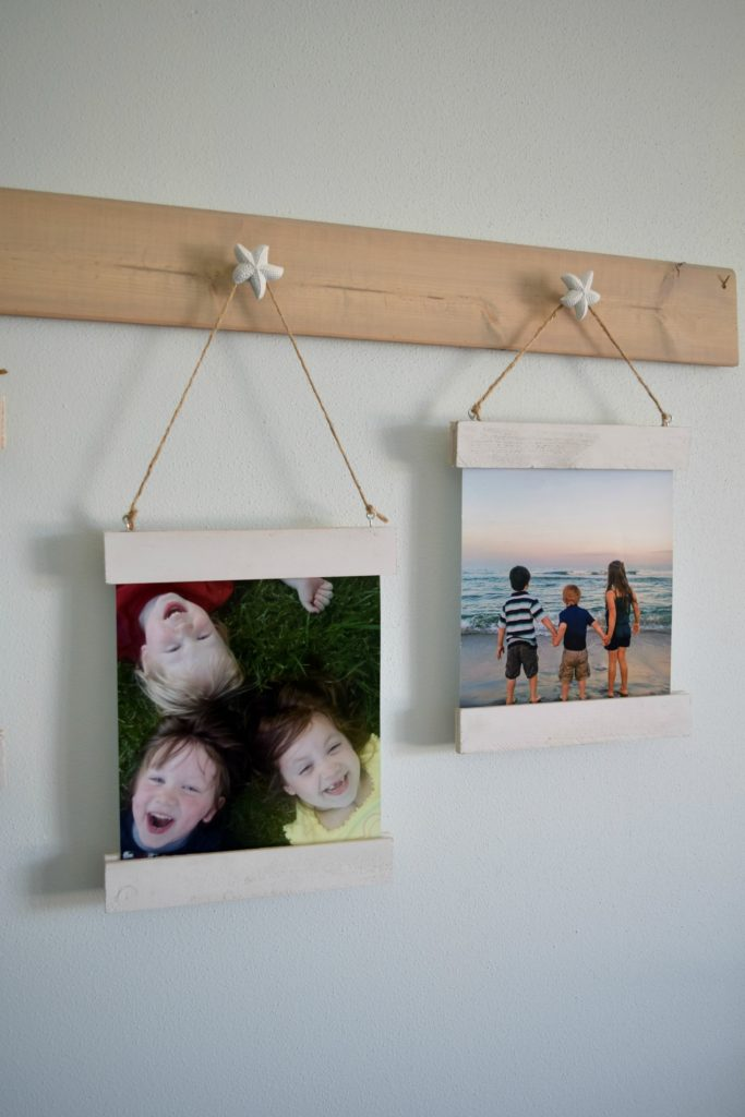 family picture display ideas