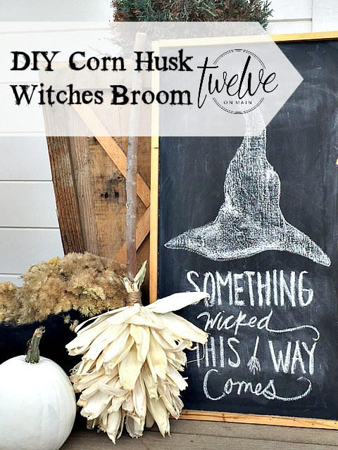 Corn Husk Broom