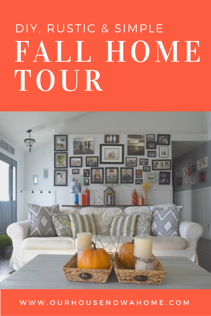 diy and rustic fall home tour