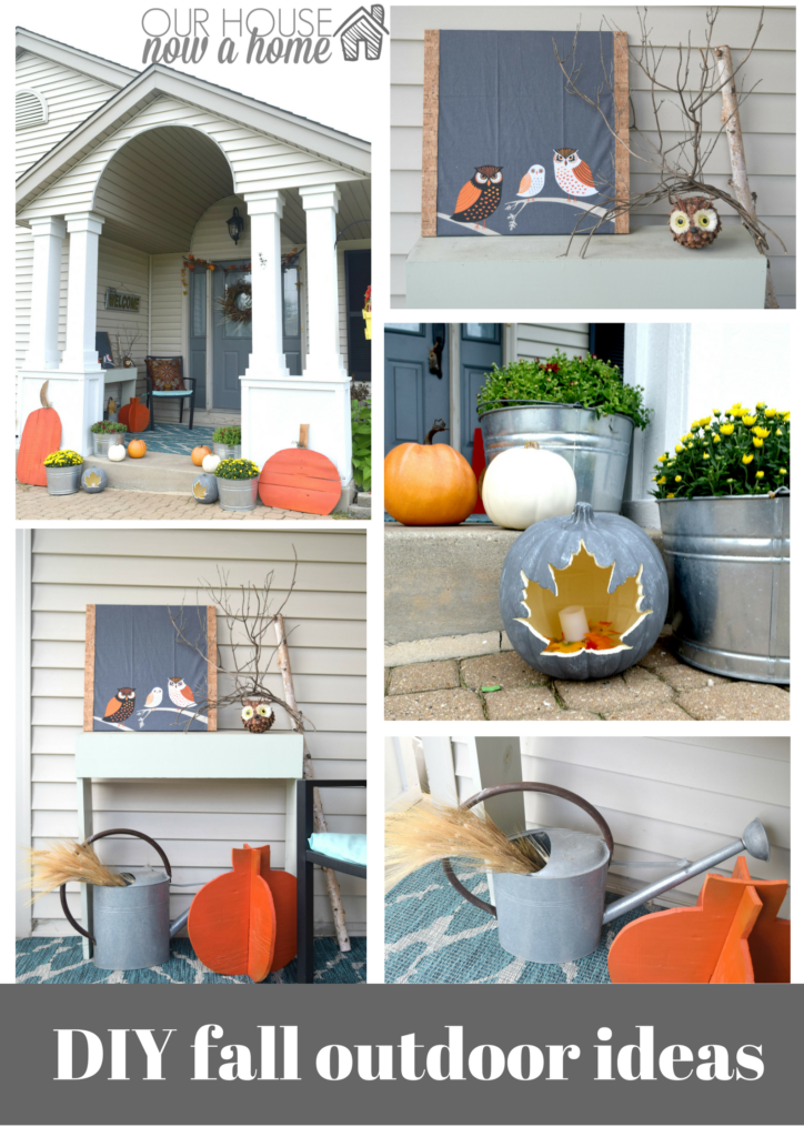 DIY, low cost craft and projects for fall