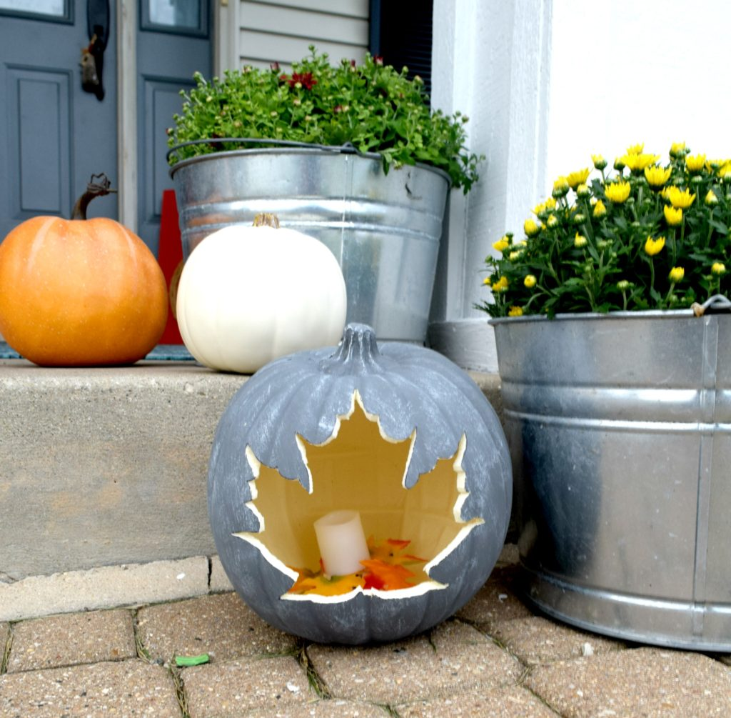 simple pumpkin craft