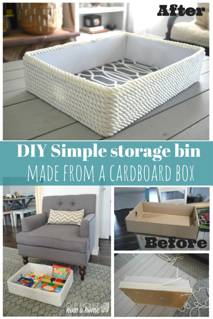 simple storage bin ideas