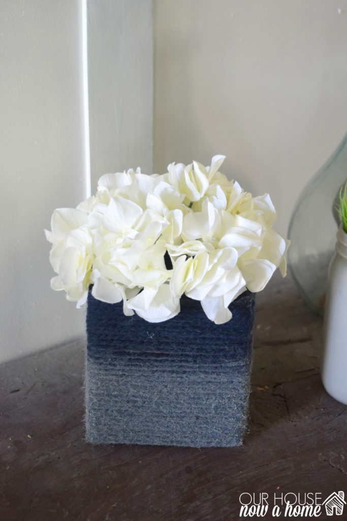 DIY vase craft idea