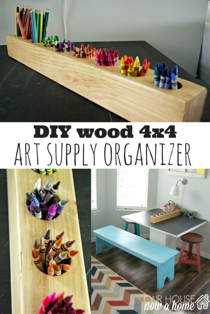 diy wood 4x4 project