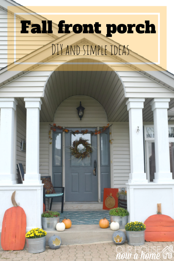 fall front porch decor ideas