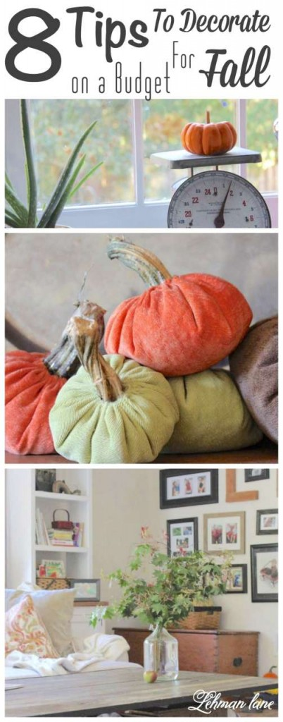 8 tips to decorate for fall