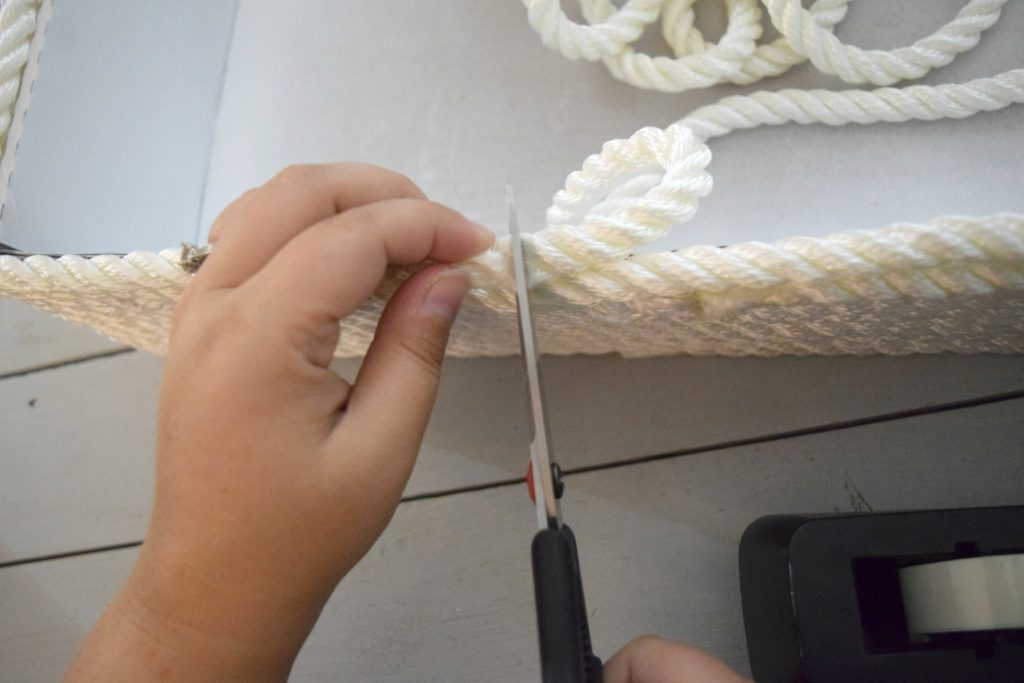 crafting with rope