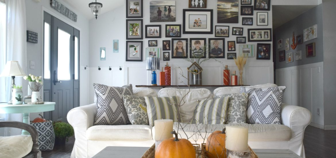 blogger home tour for fall