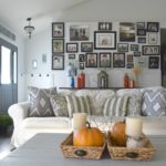 Natural and rustic, a DIY filled Fall home tour