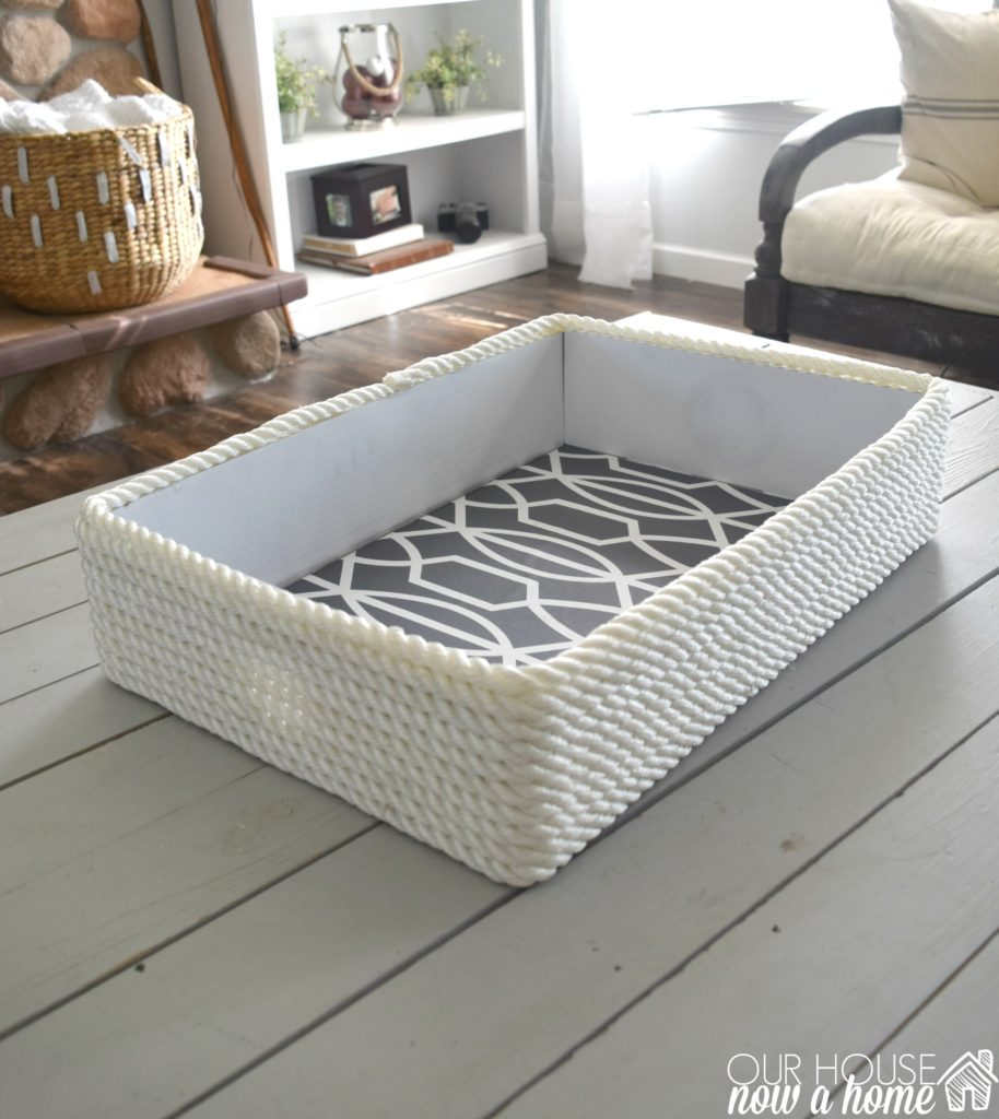 cardboard-box-turned-into-cute-basket
