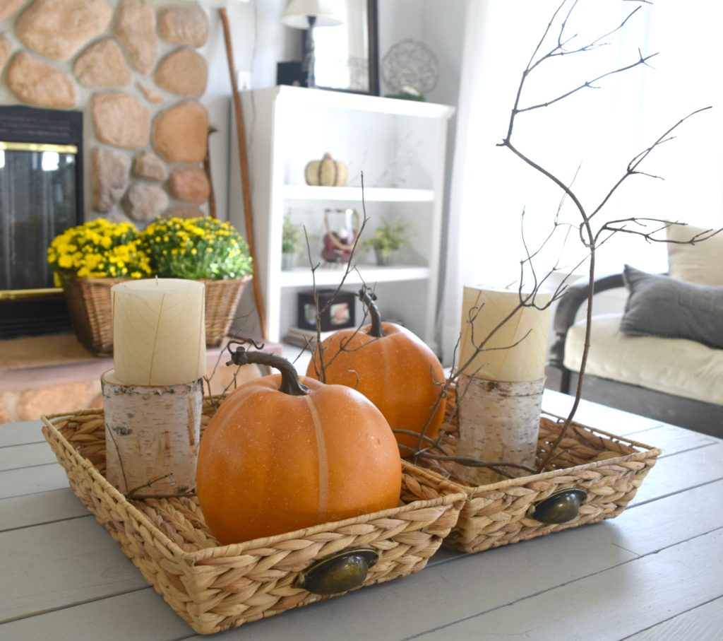 Natural and rustic a diy filled fall home tour our - How to decorate my home ...