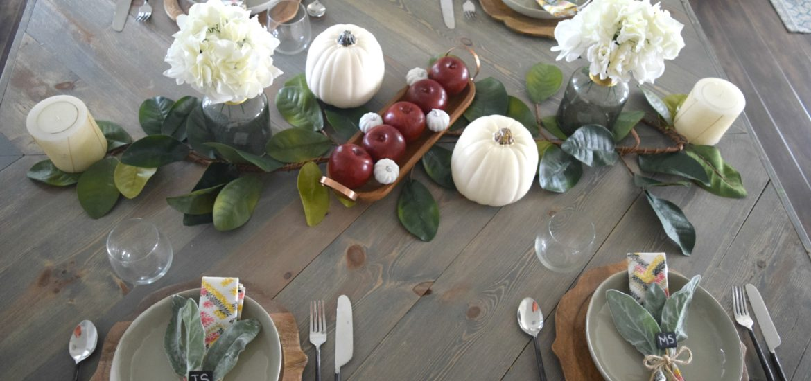 country style fall decorating
