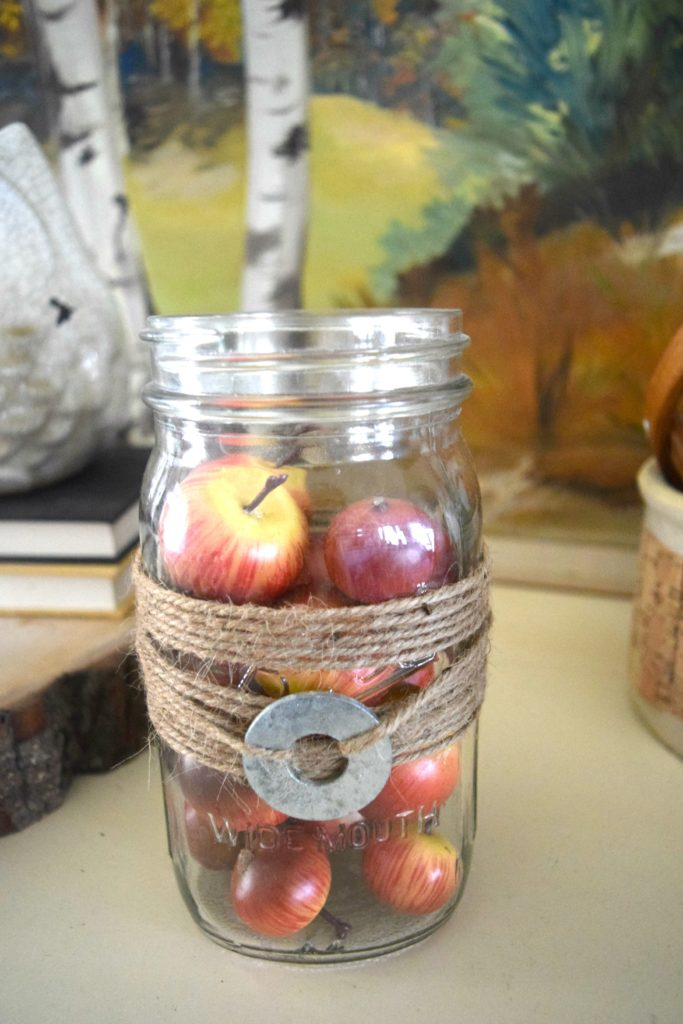 simple apple decor