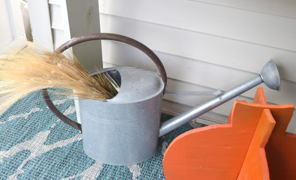 decorating with wheat grass