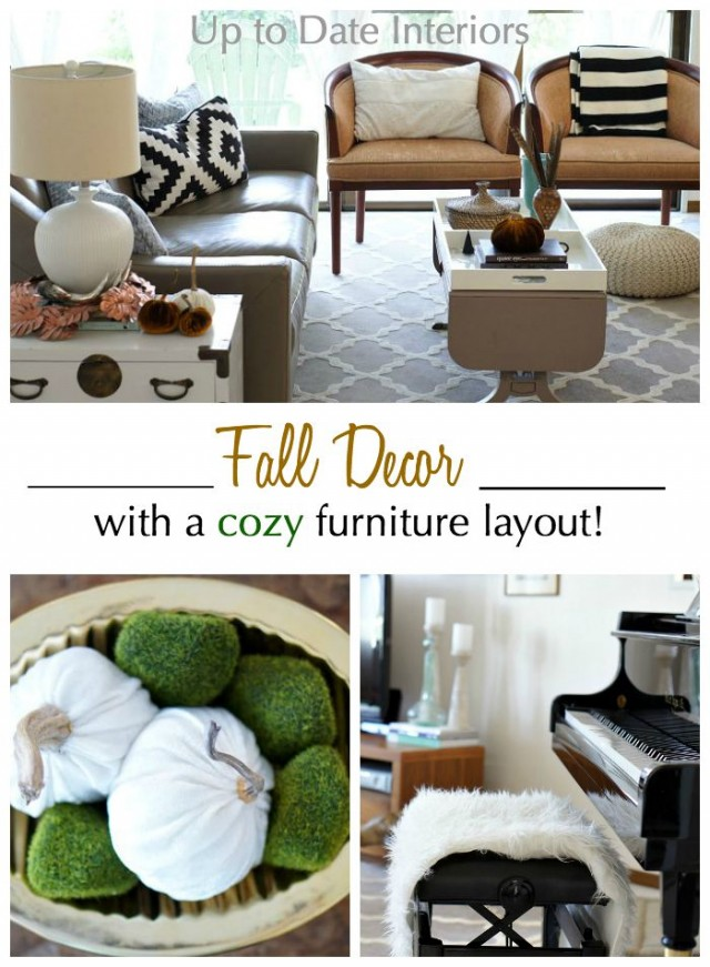 fall decor cozy layout