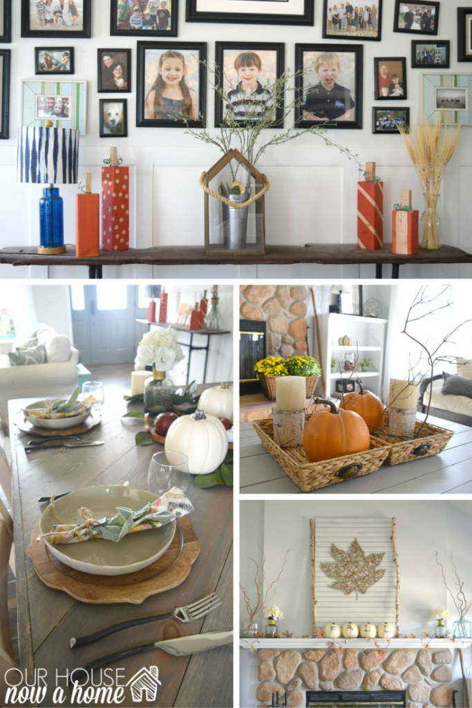 hundreds of fall decor ideas