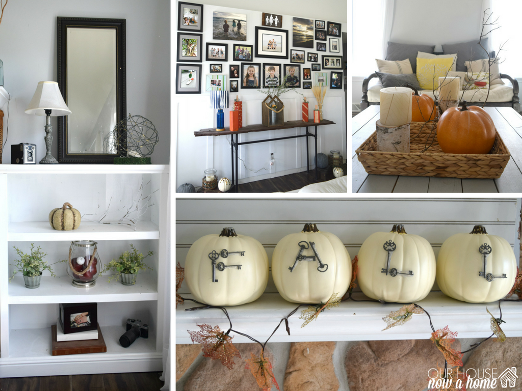 natural and rustic a diy filled fall home tour our house now a home seasonal decorating ideas for the home