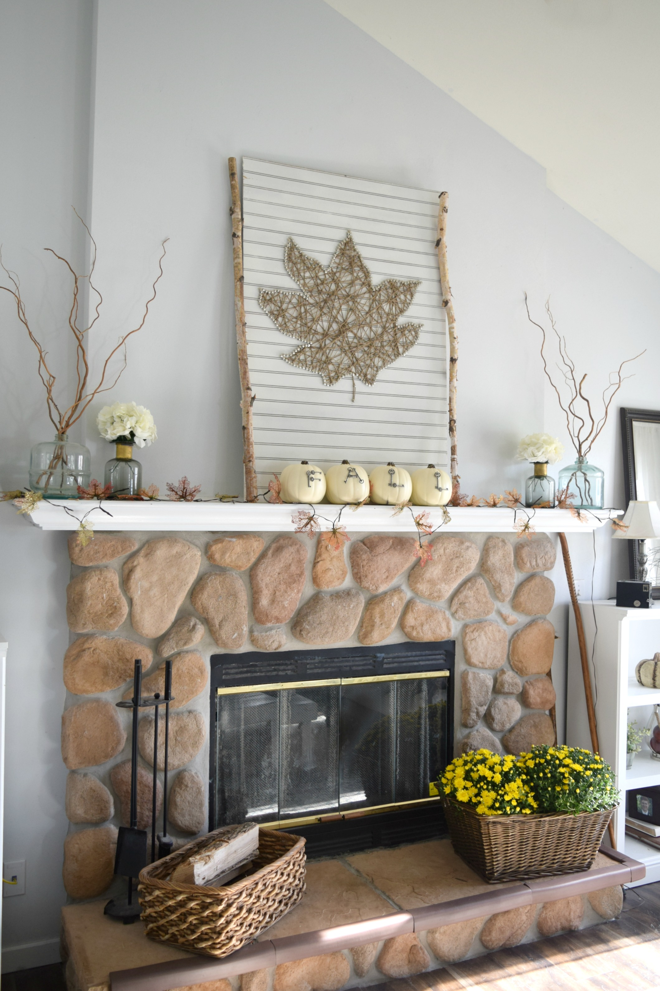 natural and rustic a diy filled fall home tour u2022 our house now a home