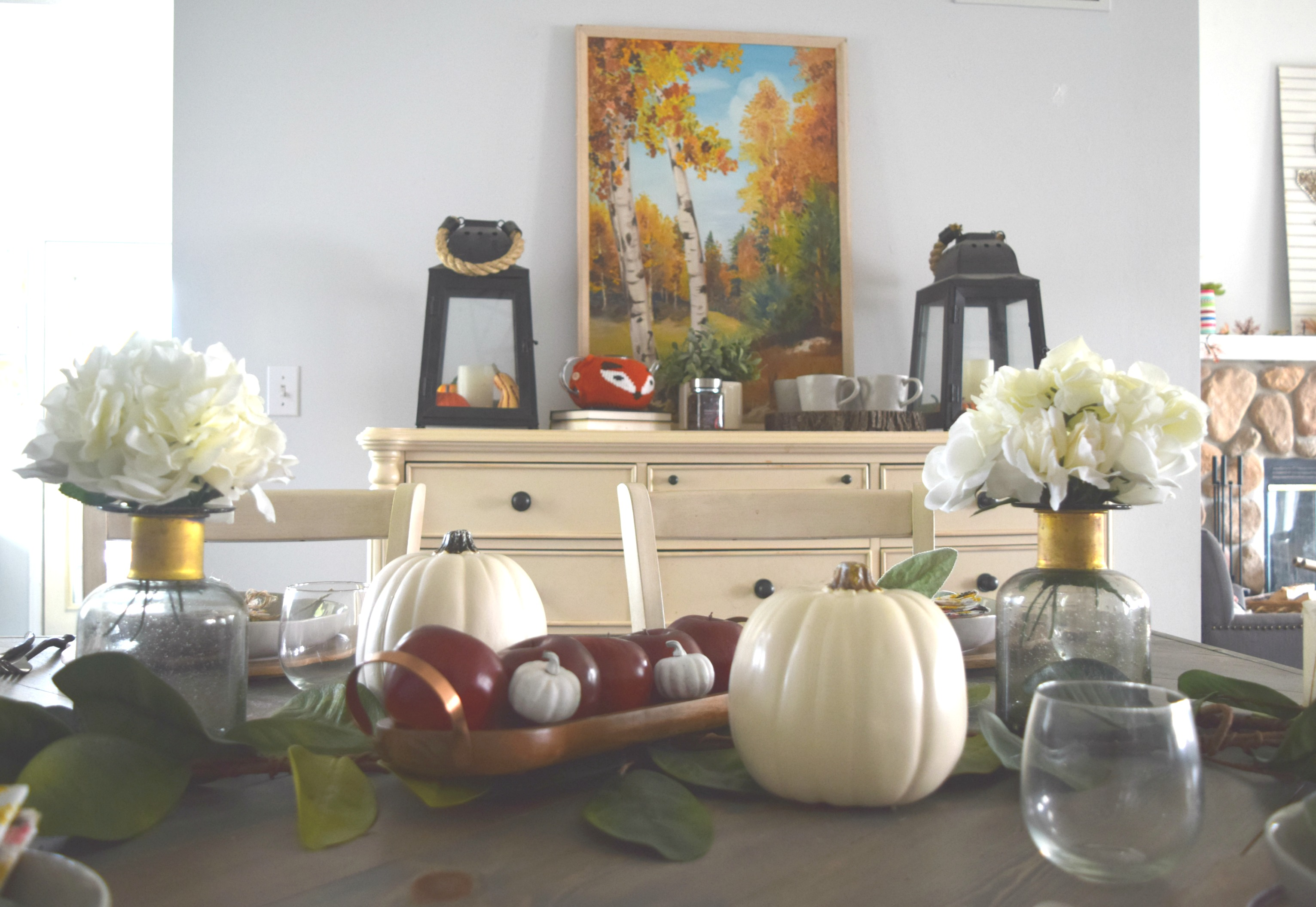 Valentines Day Low Cost Ideas Title And Wm Decorations: Fall Home • Our House Now A Home