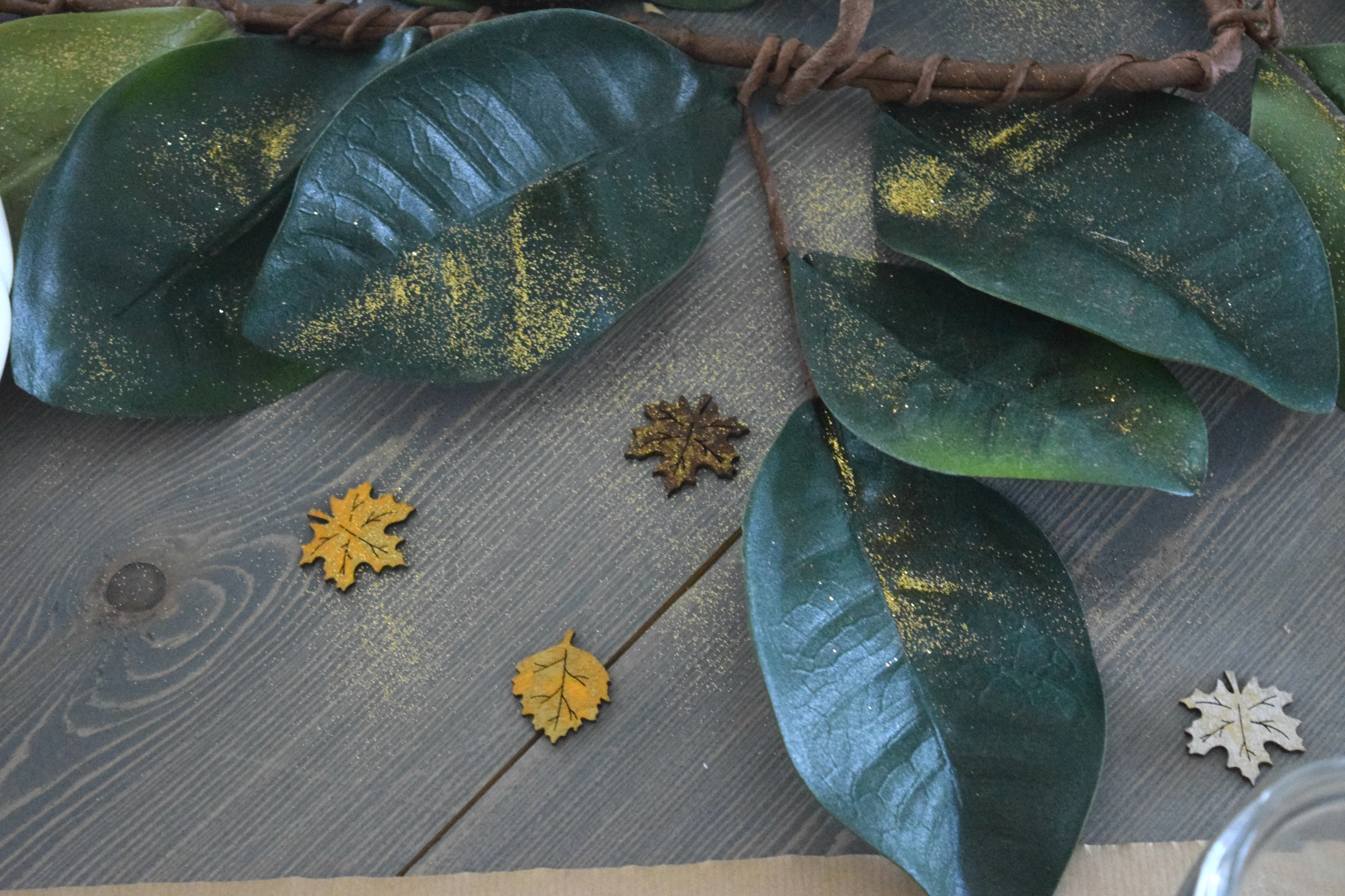 fall leaf decor