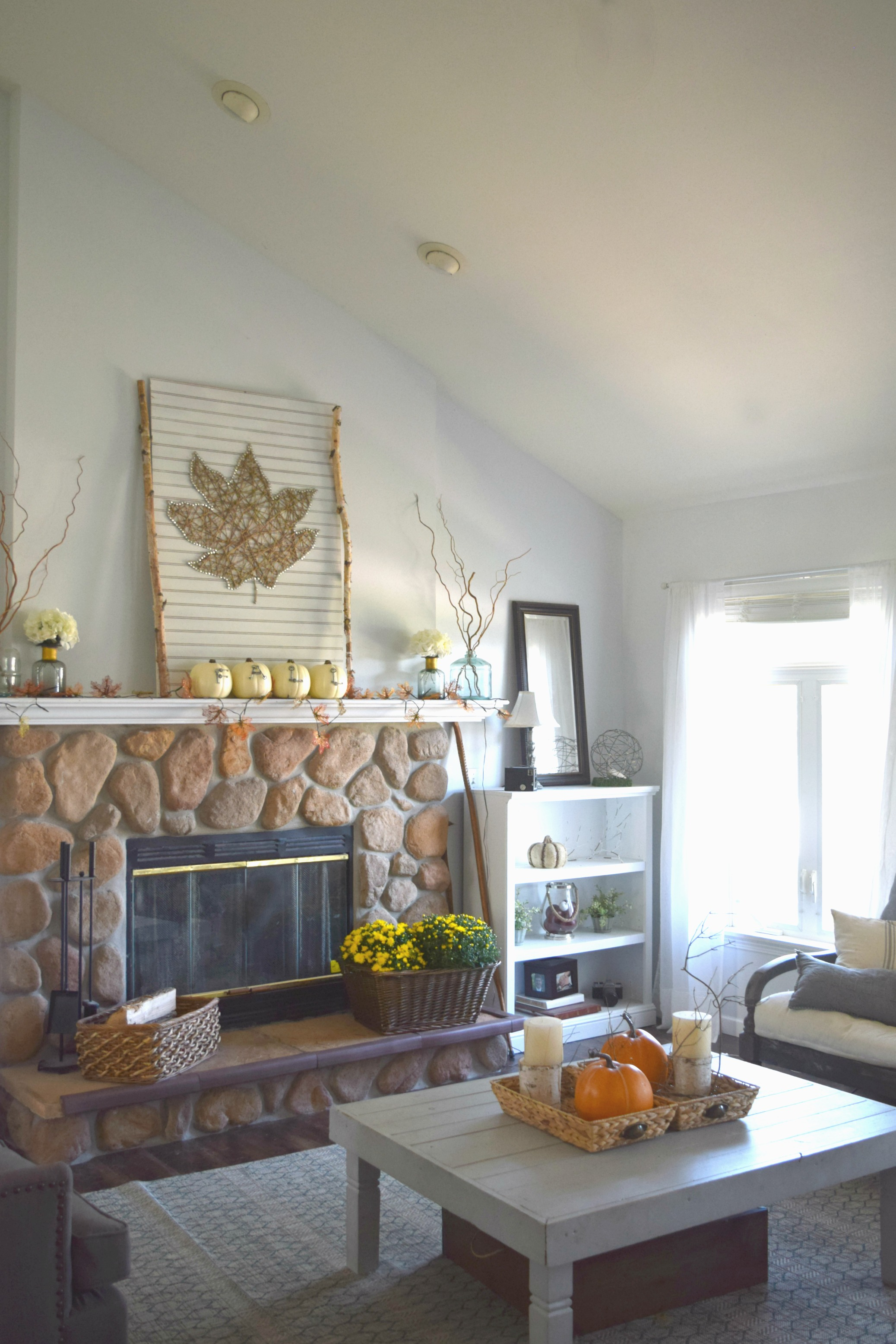 Fall Living Room Decor Finding Fall Home Tour U Fall