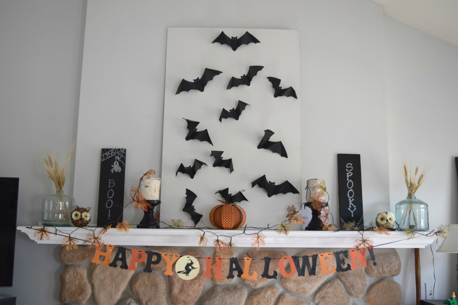 16 of the best Fall and Halloween blogger home tours