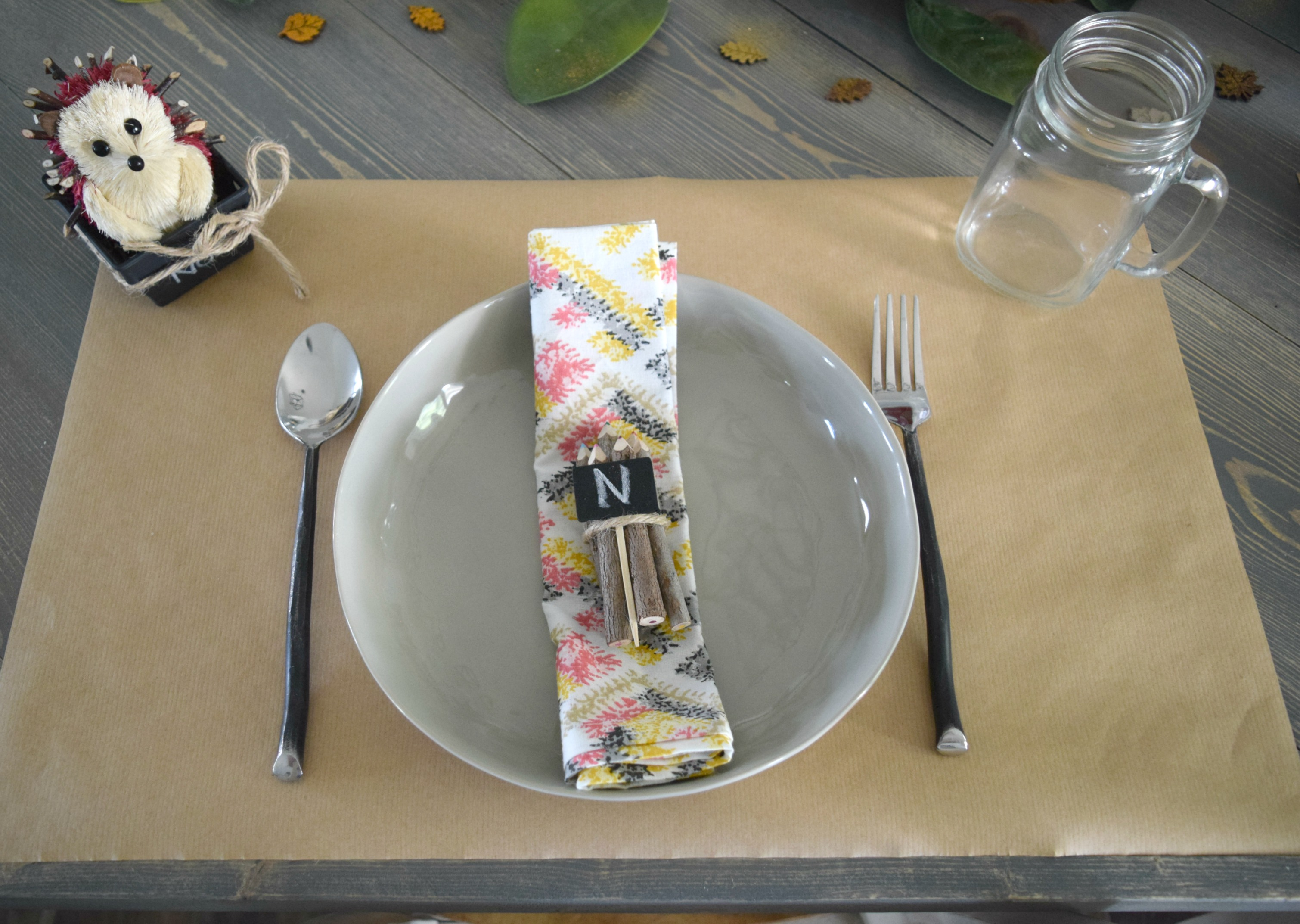 kids friendly table setting ideas