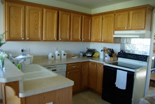 kitchen redo, how to tile and paint cabinets