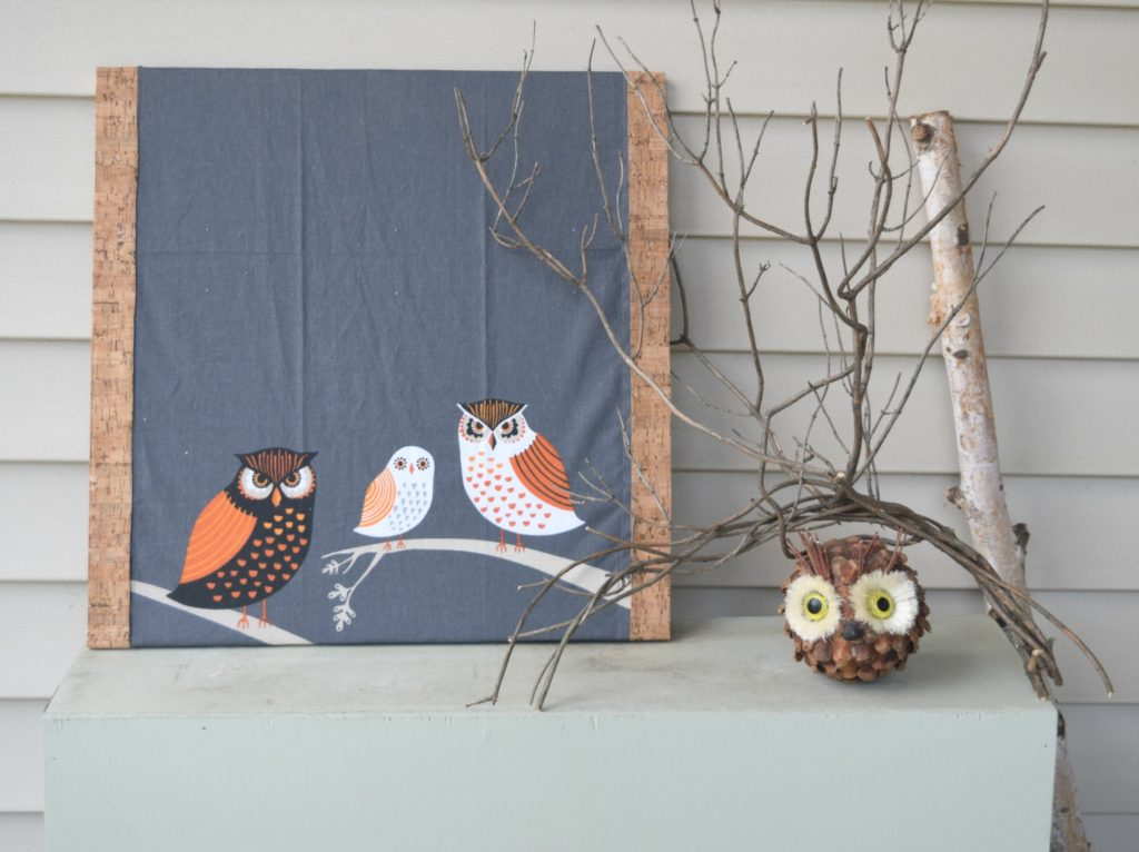 owl decor for fall