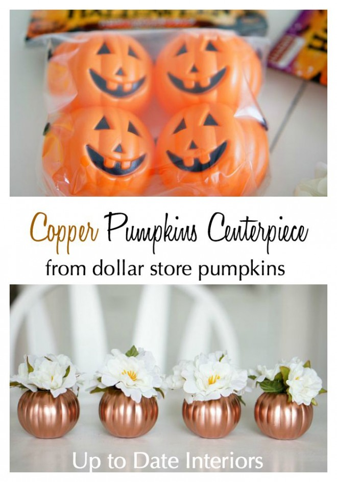 copper pumpkins
