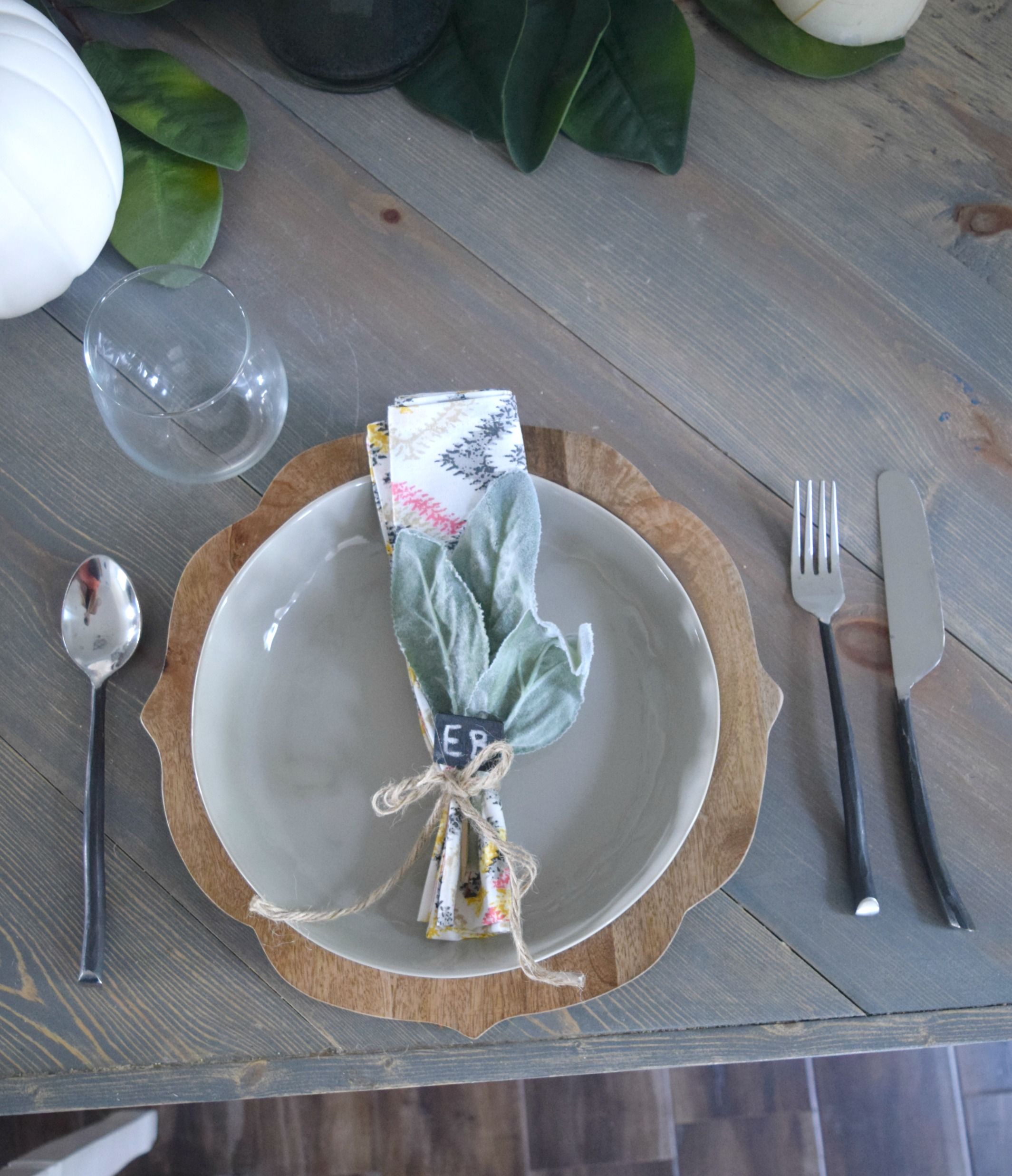 simple fall table decor ideas