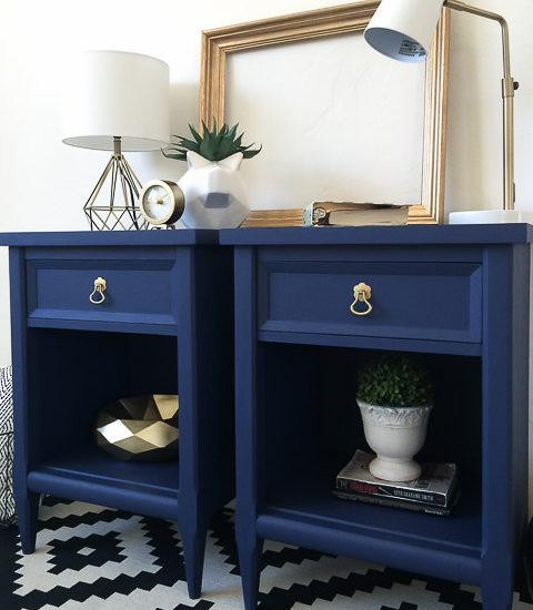 blue-painted-nightstands-with-country-chic-paint-midnight-sky-1-of-1