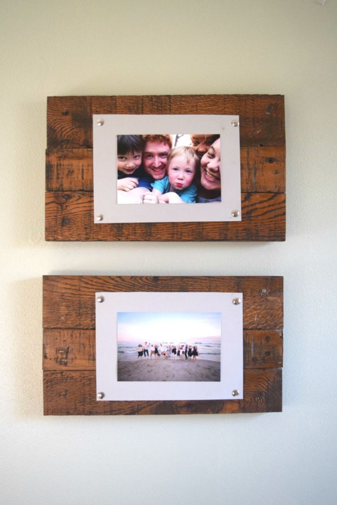 diy-rustic-scrap-wood-picture-frame
