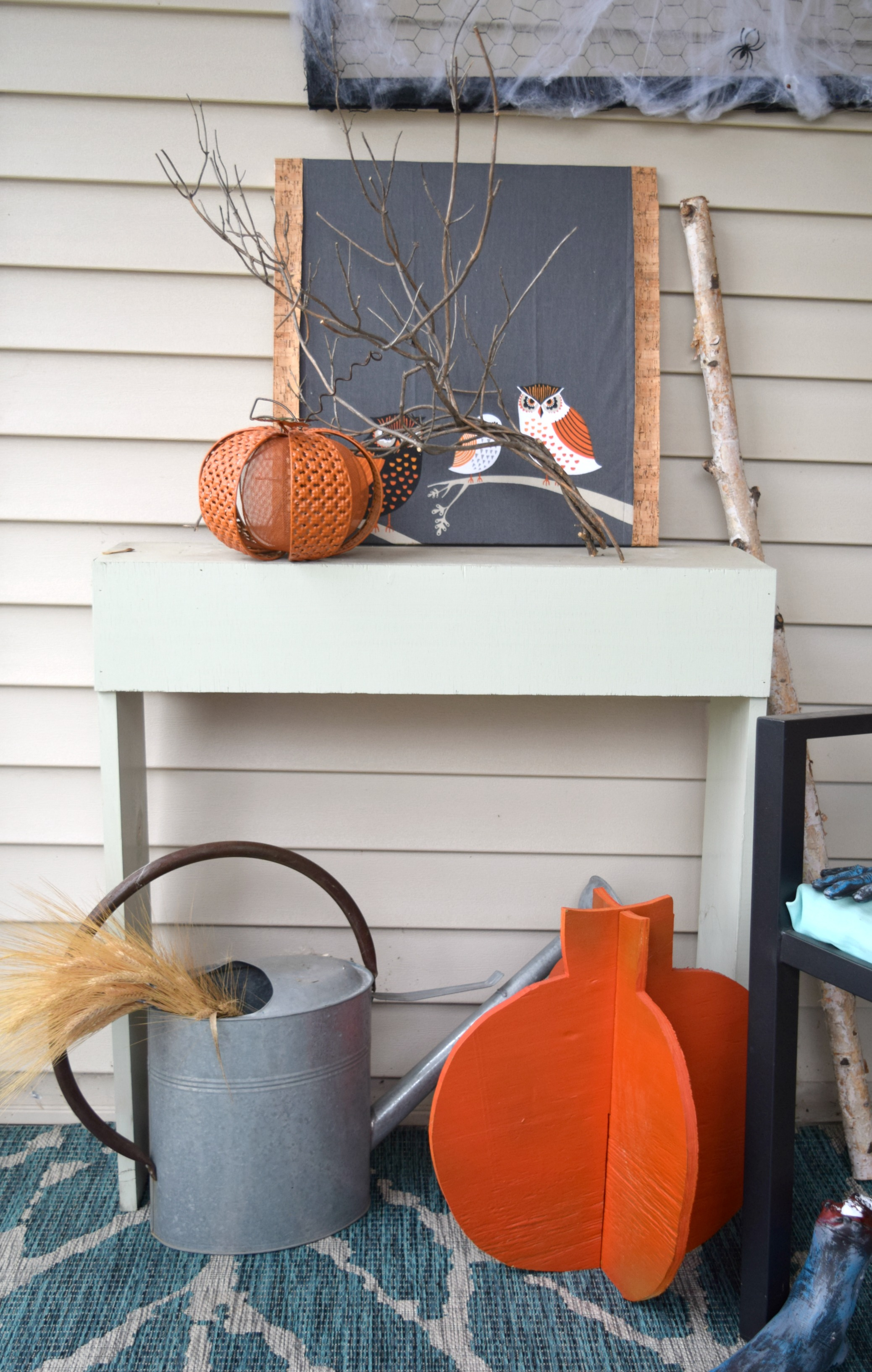 Spooky Home Decor Halloween Decorations On Front Porch Our House Now A Home