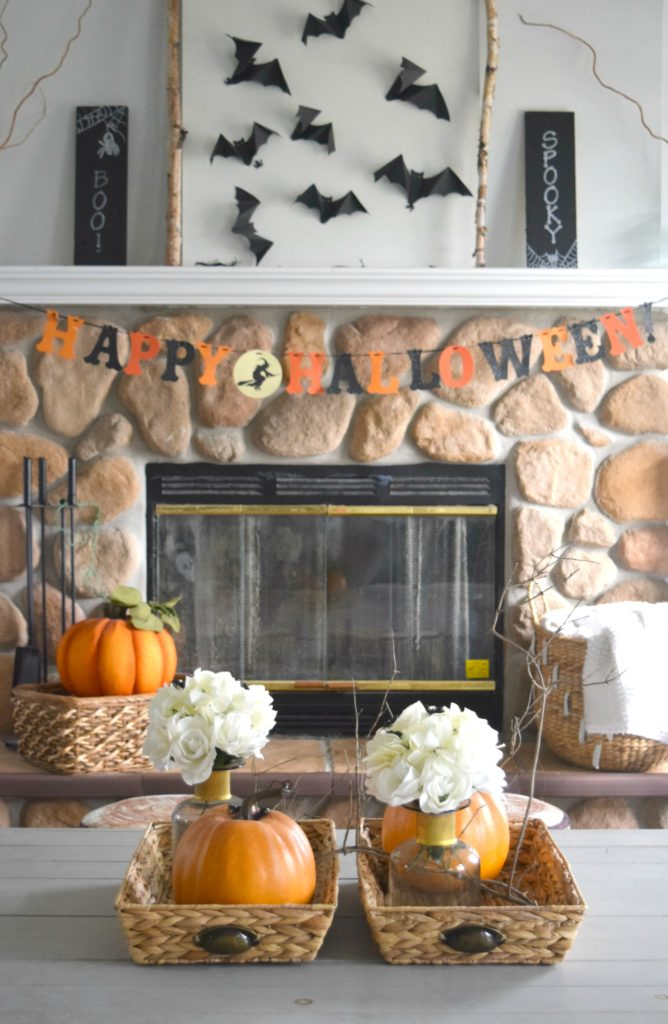 halloween-fireplace-decor-ideas