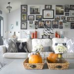 Halloween home tour, adding the spooky