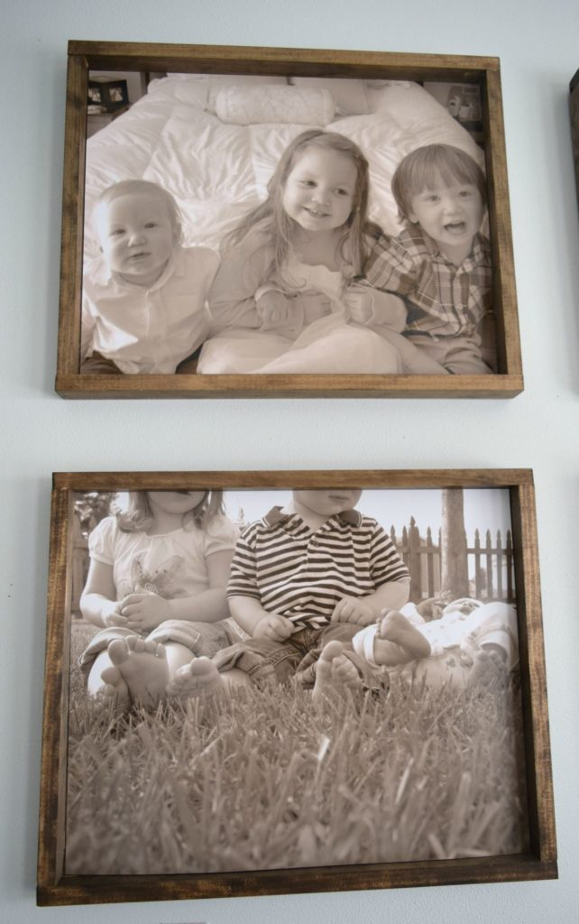 kids-picture-frames-with-a-rustic-feel